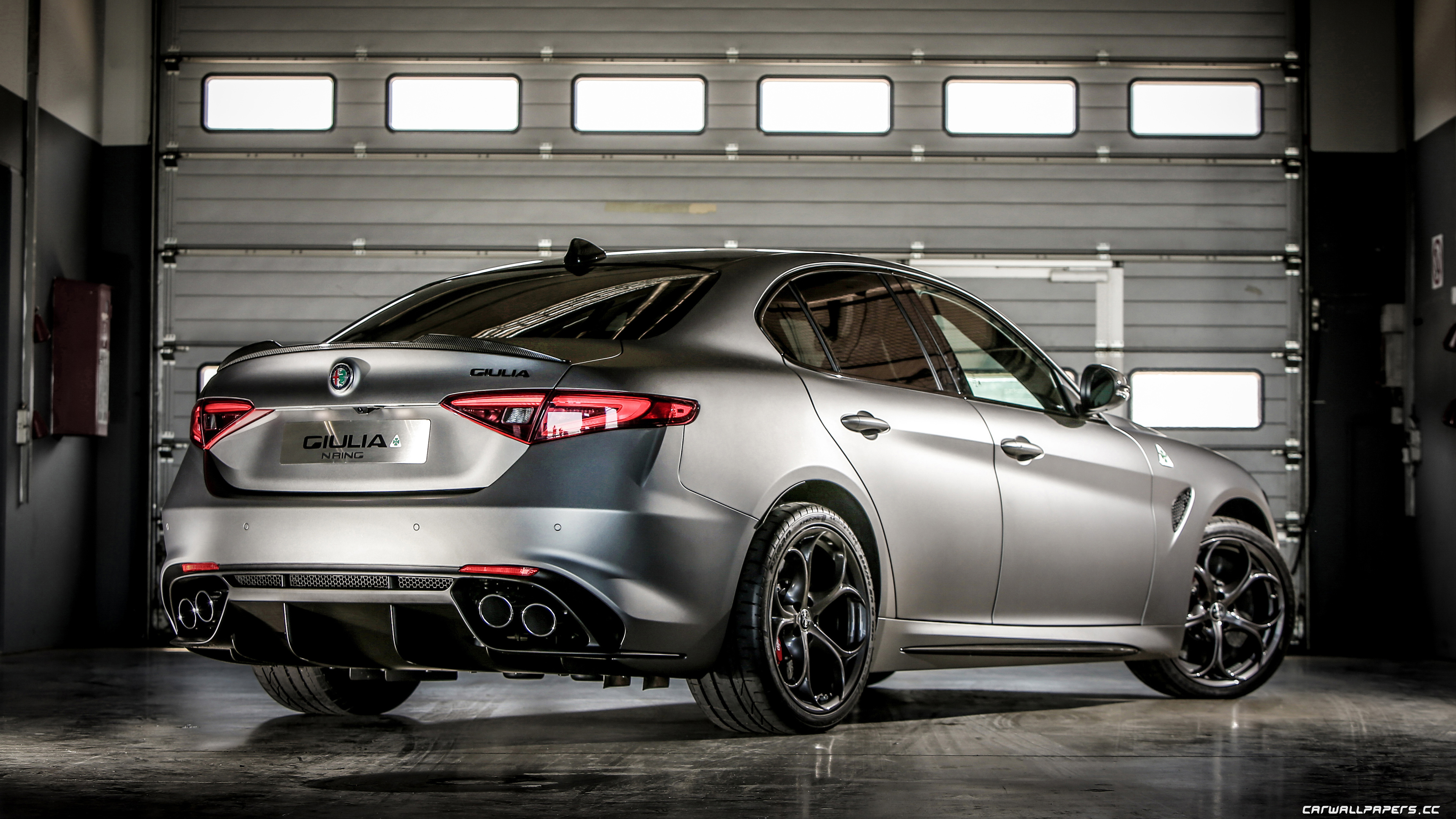 Cars Desktop Wallpapers Alfa Romeo Giulia Quadrifoglio Nring