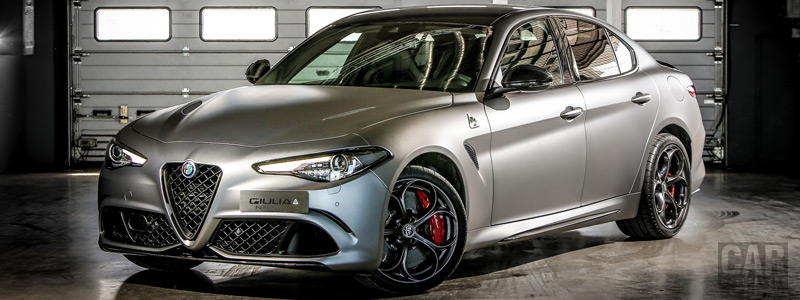Cars wallpapers Alfa Romeo Giulia Quadrifoglio NRING - 2018 - Car wallpapers