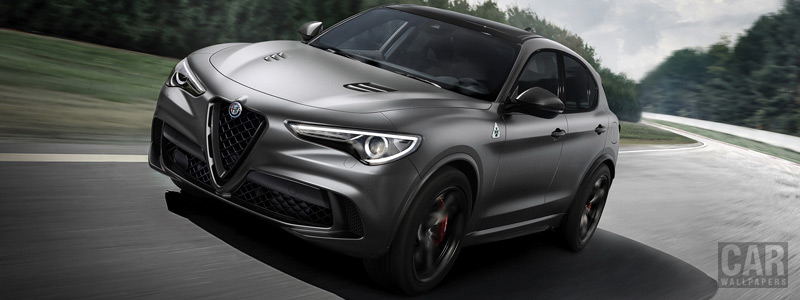 Cars wallpapers Alfa Romeo Stelvio Quadrifoglio NRING - 2018 - Car wallpapers