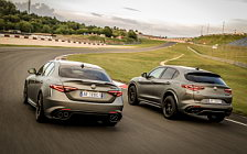 Cars wallpapers Alfa Romeo Stelvio Quadrifoglio NRING - 2018