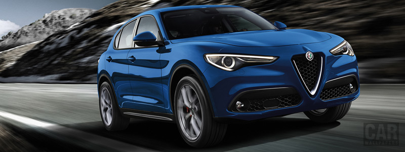 Cars wallpapers Alfa Romeo Stelvio Sport - 2018 - Car wallpapers