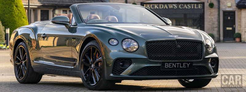 Cars wallpapers Bentley Mulliner Continental GT Convertible Equestrian Edition UK-spec - 2020 - Car wallpapers