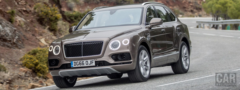 Cars wallpapers Bentley Bentayga Diesel (Dark Cashmere) - 2016 - Car wallpapers
