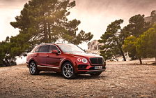 Cars wallpapers Bentley Bentayga Diesel (Rubino Red) - 2016