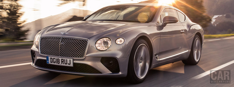 Cars wallpapers Bentley Continental GT (Extreme Silver) - 2018 - Car wallpapers