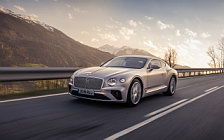 Cars wallpapers Bentley Continental GT (Extreme Silver) - 2018