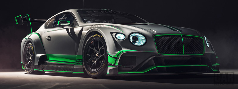 Cars wallpapers Bentley Continental GT3 - 2018 - Car wallpapers