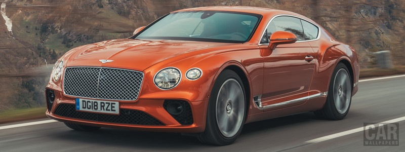 Cars wallpapers Bentley Continental GT (Orange Flame) - 2018 - Car wallpapers