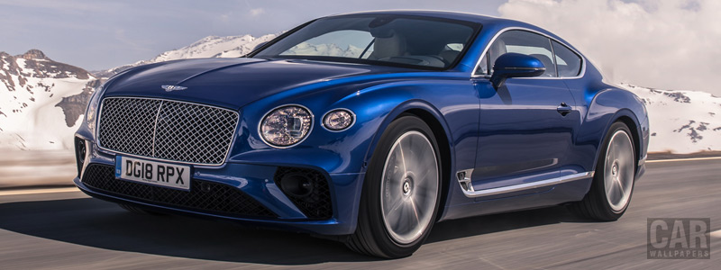 Cars wallpapers Bentley Continental GT (Sequin Blue) - 2018 - Car wallpapers