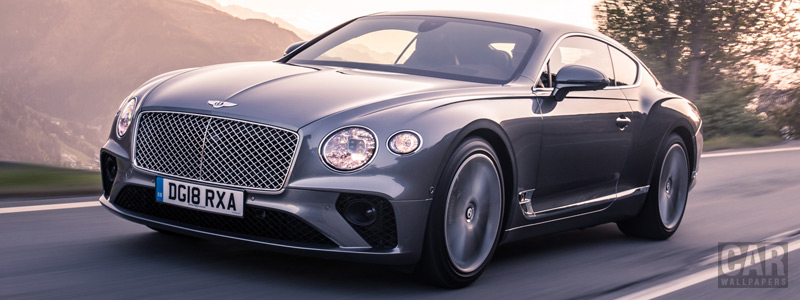 Cars wallpapers Bentley Continental GT (Tungsten) - 2018 - Car wallpapers