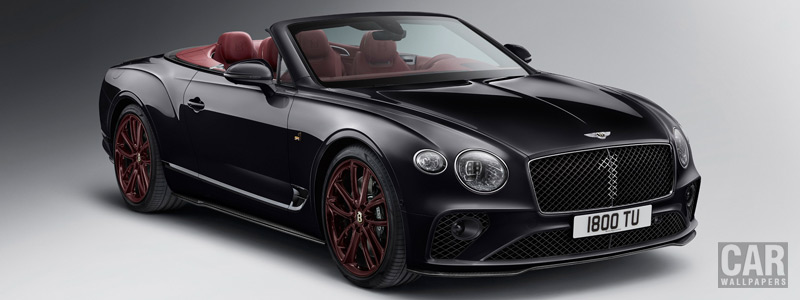 Cars desktop wallpapers Bentley Continental GT Convertible Number 1 Edition by Mulliner - 2019 - Car wallpapers
