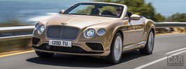 Bentley Continental GT Convertible - 2015
