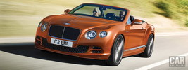 Bentley Continental GT Speed Convertible - 2014