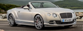 Bentley Continental GT Speed Convertible UK-spec - 2014