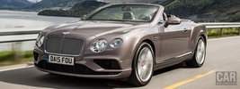 Bentley Continental GT V8 Convertible - 2015