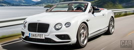 Bentley Continental GT V8 S Convertible - 2015