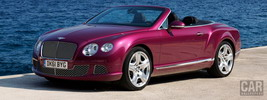 Bentley Continental GTC W12 - 2012