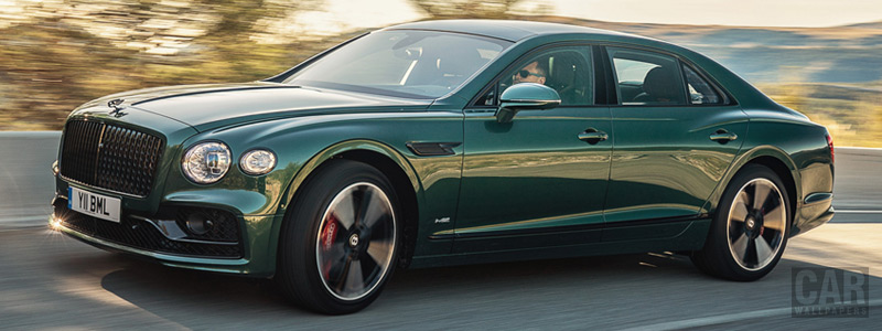 Cars wallpapers Bentley Flying Spur Blackline (Verdant) - 2019 - Car wallpapers