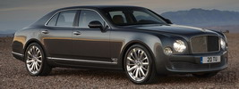 Bentley Mulsanne Mulliner Driving - 2012