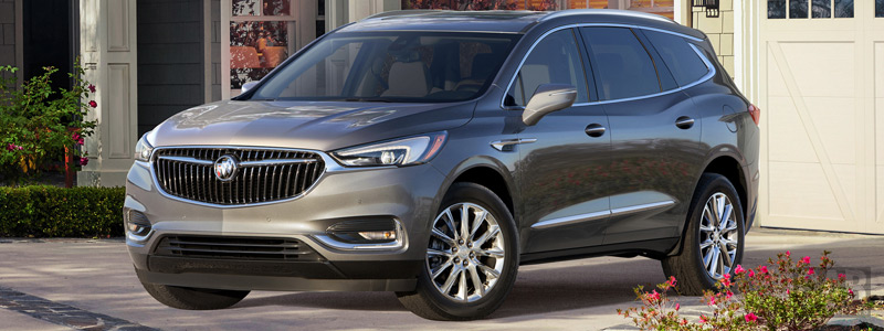 Cars wallpapers Buick Enclave - 2017 - Car wallpapers