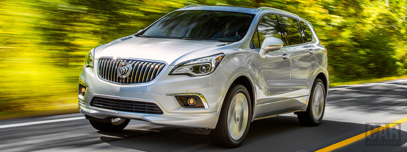 Cars wallpapers Buick Envision - 2017 - Car wallpapers
