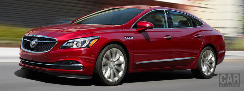 Cars wallpapers Buick LaCrosse - 2017 - Car wallpapers