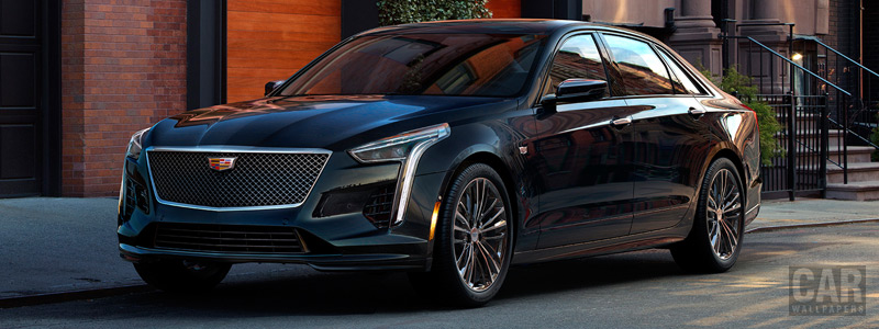 Cars wallpapers Cadillac CT6 V-Sport - 2018 - Car wallpapers