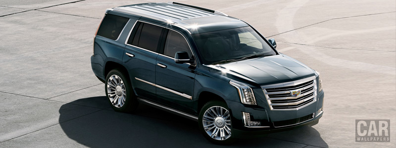 Cars wallpapers Cadillac Escalade Platinum - 2018 - Car wallpapers