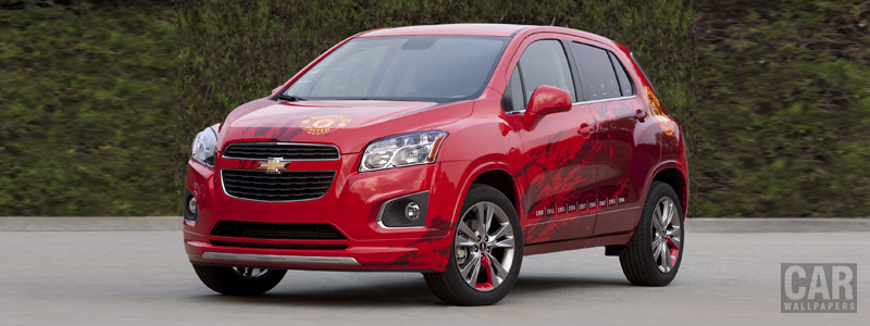 Cars wallpapers Chevrolet Trax Manchester United EU-spec - 2012 - Car wallpapers