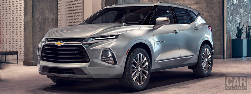 Cars wallpapers Chevrolet Blazer Premier - 2019 - Car wallpapers