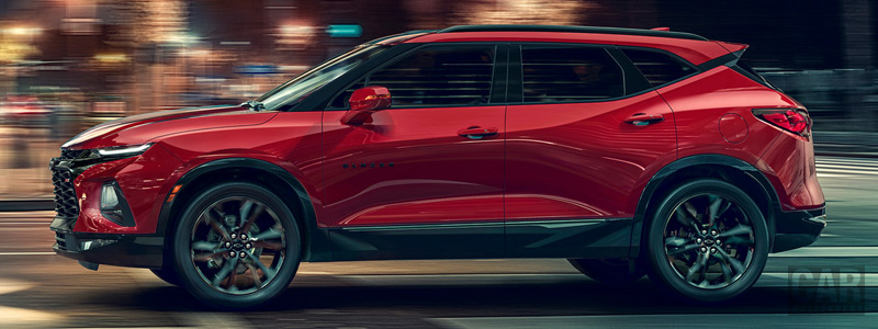Cars wallpapers Chevrolet Blazer RS - 2019 - Car wallpapers