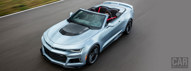 Cars wallpapers Chevrolet Camaro ZL1 Convertible - 2016 - Car wallpapers
