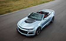 Cars wallpapers Chevrolet Camaro ZL1 Convertible - 2016
