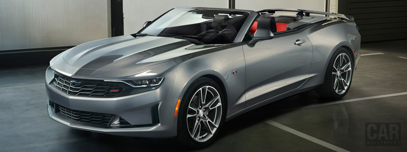 Cars wallpapers Chevrolet Camaro RS Convertible - 2018 - Car wallpapers