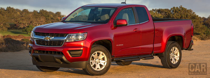 Cars wallpapers Chevrolet Colorado LT Extended Cab - 2014 - Car wallpapers