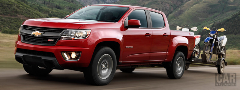 Cars wallpapers Chevrolet Colorado Z71 Crew Cab - 2015 - Car wallpapers