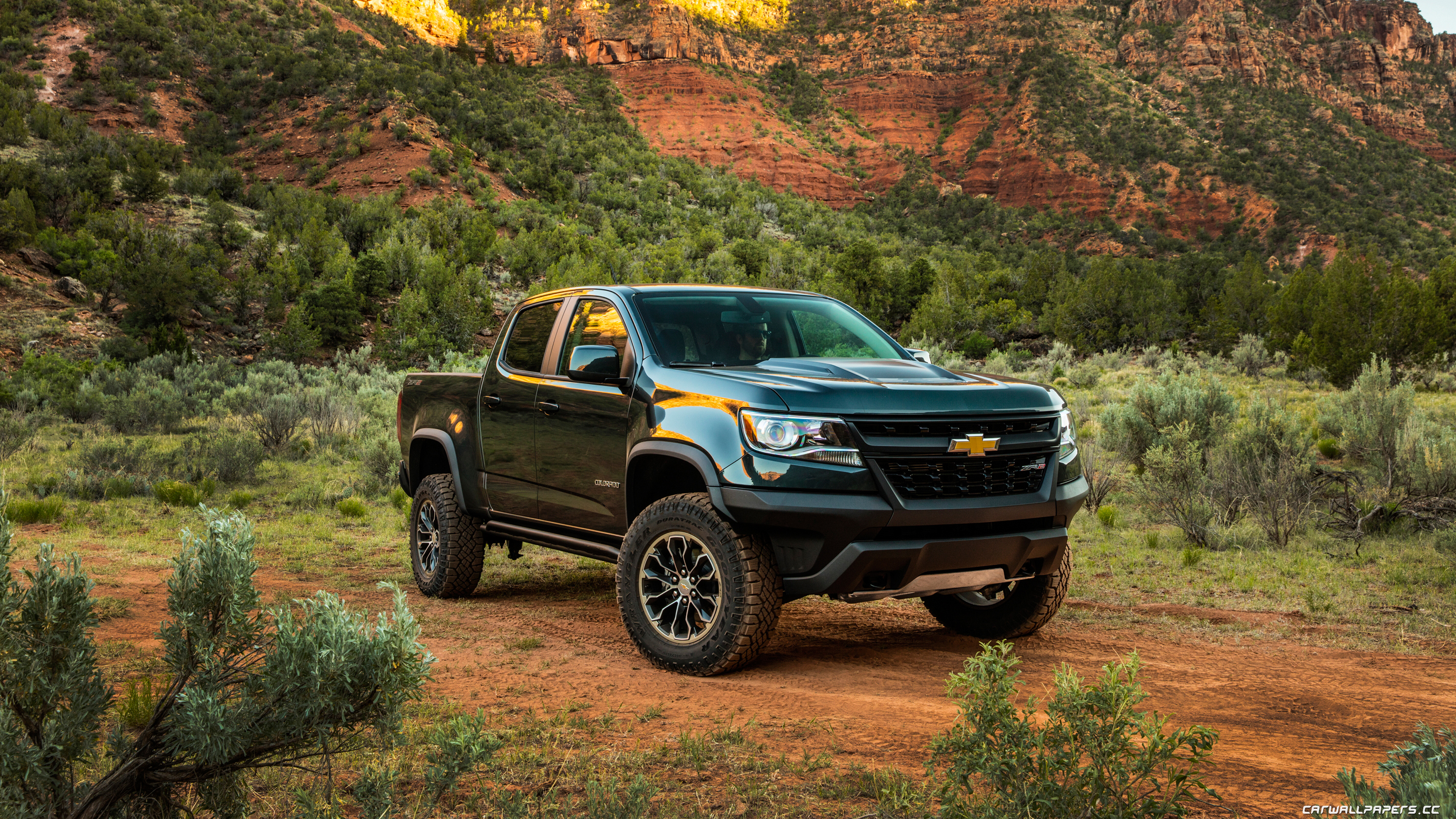 Cars desktop wallpapers Chevrolet Colorado ZR2 Crew Cab - 2017