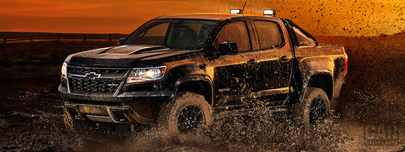 Cars wallpapers Chevrolet Colorado ZR2 Midnight Crew Cab - 2018 - Car wallpapers
