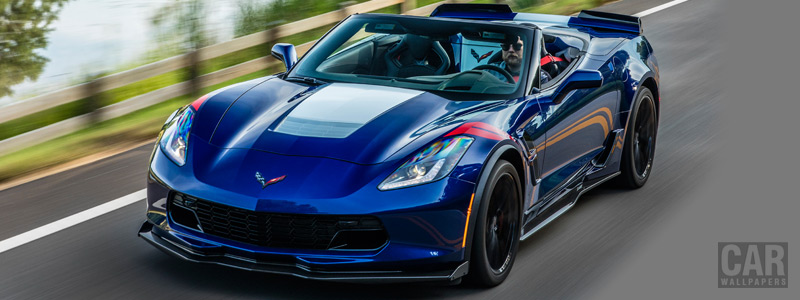 Cars wallpapers Chevrolet Corvette Grand Sport Convertible - 2016 - Car wallpapers