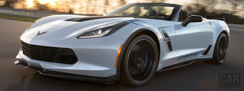 Cars wallpapers Chevrolet Corvette Grand Sport Carbon 65 Edition Convertible - 2017 - Car wallpapers