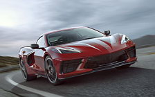 Cars wallpapers Chevrolet Corvette Stingray Z51 - 2019