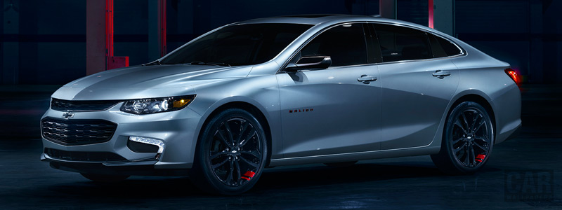 Cars wallpapers Chevrolet Malibu Redline - 2017 - Car wallpapers