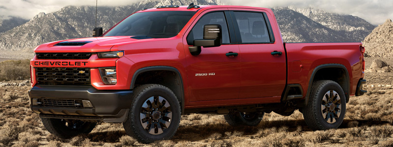 Cars wallpapers Chevrolet Silverado 2500 HD Custom Crew Cab - 2019 - Car wallpapers