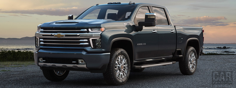Cars wallpapers Chevrolet Silverado 2500 HD High Country Crew Cab - 2019 - Car wallpapers