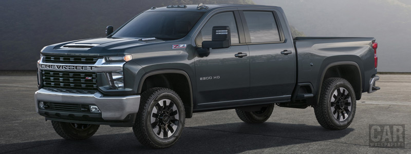 Cars wallpapers Chevrolet Silverado 2500 HD LT Z71 Crew Cab - 2019 - Car wallpapers