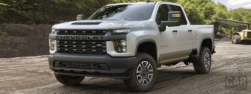 Cars wallpapers Chevrolet Silverado 2500 HD Work Truck - 2019 - Car wallpapers