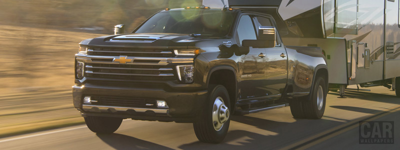 Cars wallpapers Chevrolet Silverado 3500 HD High Country Crew Cab - 2019 - Car wallpapers