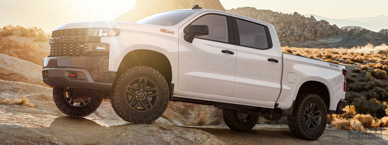 Cars wallpapers Chevrolet Silverado Custom Z71 Trailboss Crew Cab - 2018 - Car wallpapers