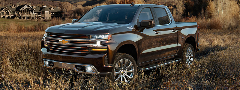Cars wallpapers Chevrolet Silverado High Country Crew Cab - 2018 - Car wallpapers