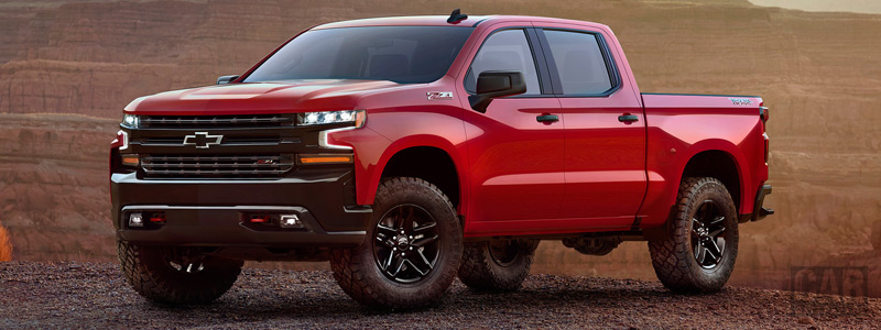 Cars wallpapers Chevrolet Silverado LT Z71 Trailboss Crew Cab - 2018 - Car wallpapers